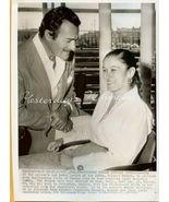Gilbert ROLAND Weds GUILLERMINA ORG 1955 Candid... - $24.99