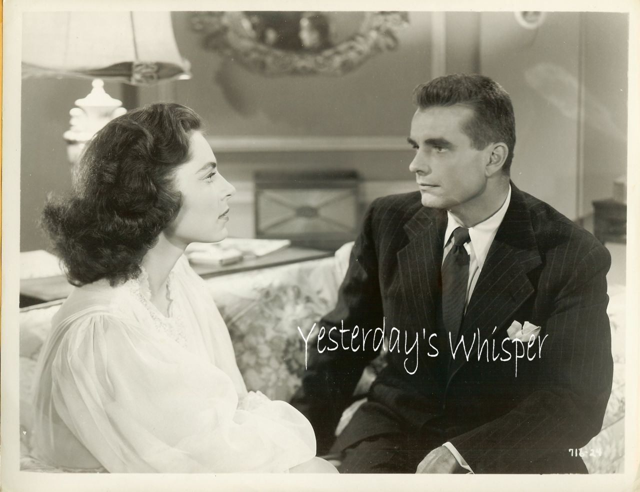 Viveca Lindfors Kent Smith Film Noir ORG Movie PHOTO