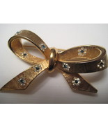 Vintage Kramer Ribbon Bow Brooch  - $22.50