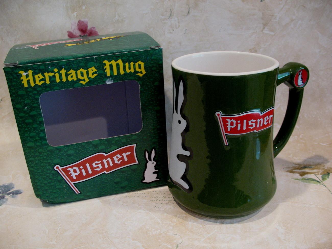 Old Style Pilsner Beer Heritage Glass Mug Souvenir Stein Glasses Cups Mugs