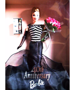 40TH ANNIVERSARY BARBIE COLLECTORS EDITION 1999 - $19.00
