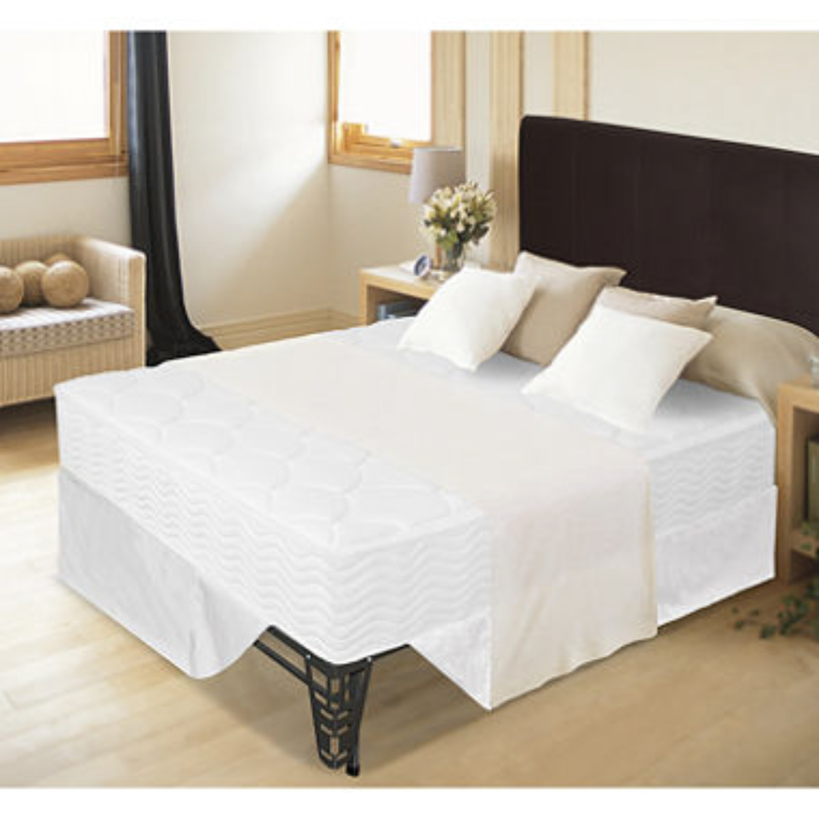SmartBase Mattress FoundationPlatform Bed Frame  Sleep