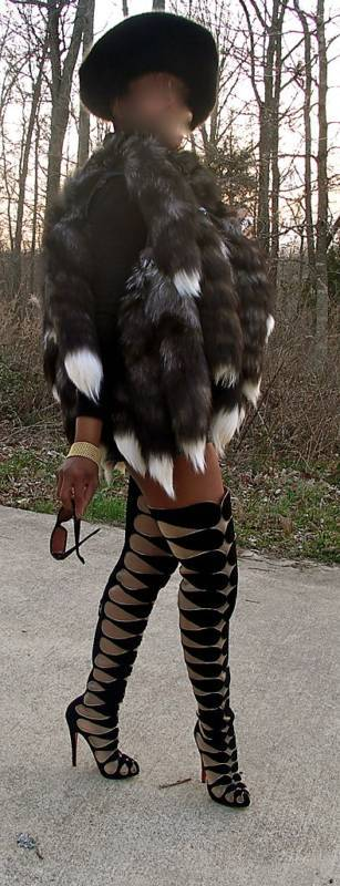 New Unusual Silver fox tails Fur Vest coat bolero M