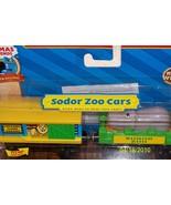 Train Thomas & Friends wooden railway Sodor Zoo... - $39.99