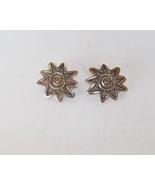 Sterling Silver Sun Design Stud Earrings by Jam... - $50.00
