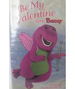 Be My Valentine Love BARNEY VHS Movie Video Tape - $1.99