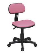PINK Fabric Seat & Back Child's Teens Computer ... - $44.95