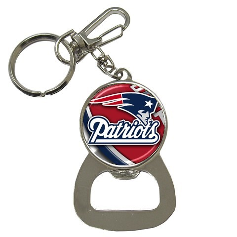 NEW BOTTLE OPENER KEY CHAIN NFL NEW ENGLAND PATRIOTS