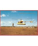 Oscoda Mi Postcard US H13 Helicopter Jets Wurts... - $6.00