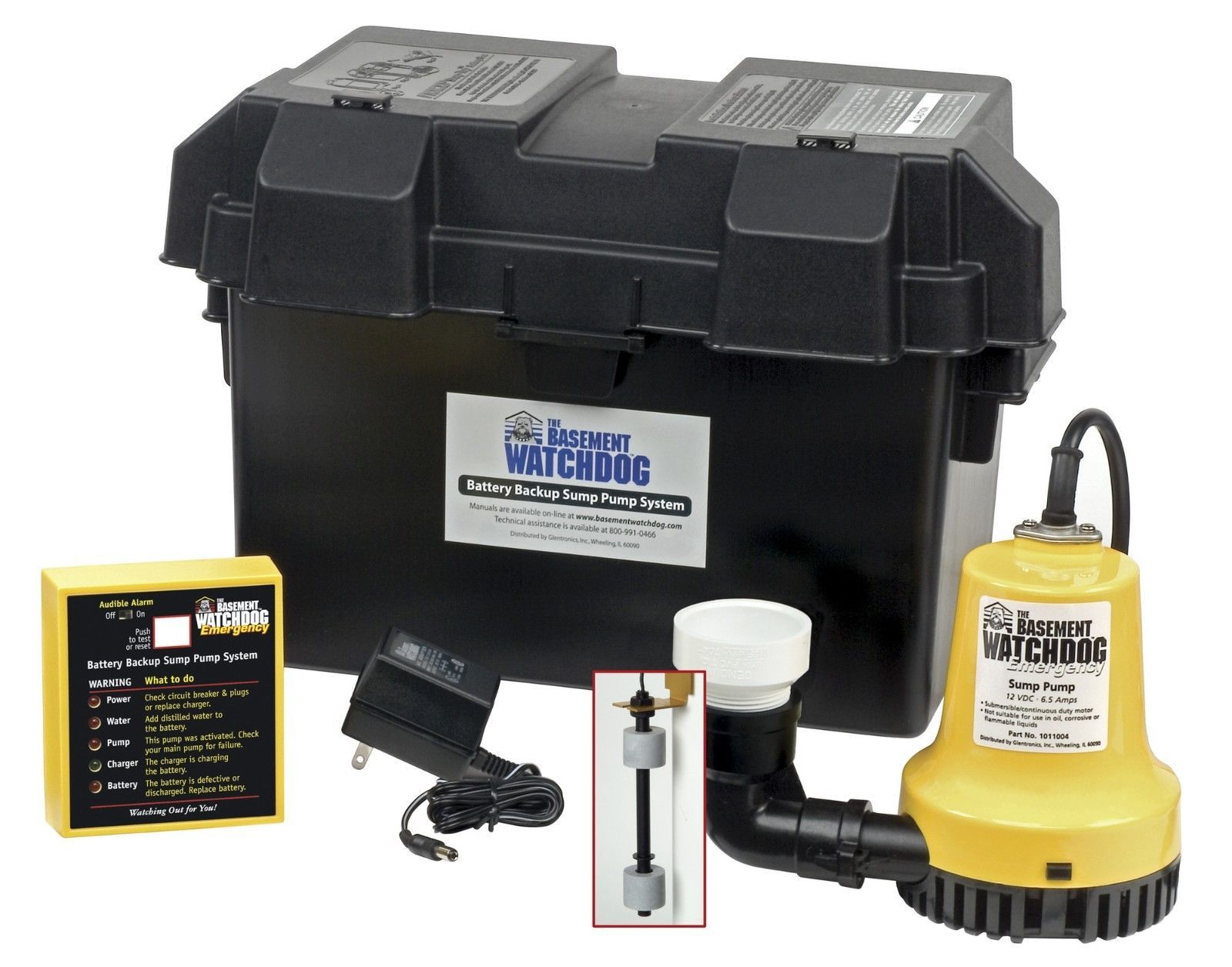 backup sump pump home water emergency cellar submersible sump