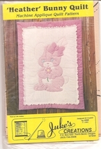 Bunny Rabbit Quilt Applique Pattern Wallhanging City Stitcher