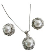 Fairytale Wedding Gorgeous Pure Whie Pearls All... - $22.48