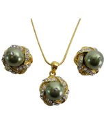 Lowest Price High Quality Green Pearl Pendant J... - $22.48