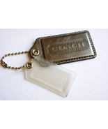 Coach 2 XL Leather hangtag Replacement Lozenge ... - $28.00