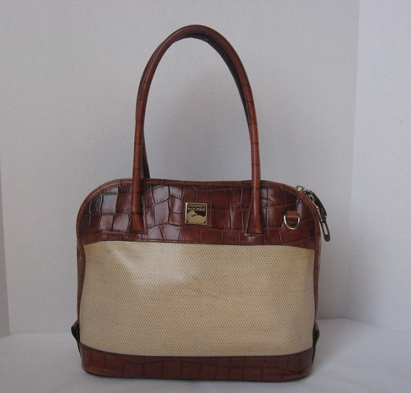 Dooney_and_bourke_handbag_purse_satchel_all_leather