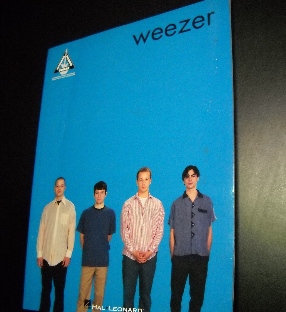 Sheet Music Weezer Guitar Recorded Versions 10 Songs Hal Leonard Music