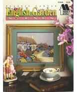 RARE~ANNIE'S~ENGLISH GARDEN SCENES~PLASTIC CANVAS - £13.77 GBP
