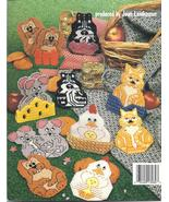 CRITTER COASTERS~PLASTIC CANVAS LEAFLET - £9.15 GBP