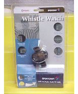 NEW FOX 40 FINGER GRIP WHISTLE WATCH/SPORTSCRAFT