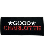 Embroidered Patch Good Charlotte Patch - $3.22