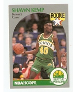 1990 Hoops Shawn Kemp Rookie Crad