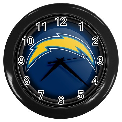 WALL CLOCK HOME  OFFICE NFL SAN DIEGO CHARGERS