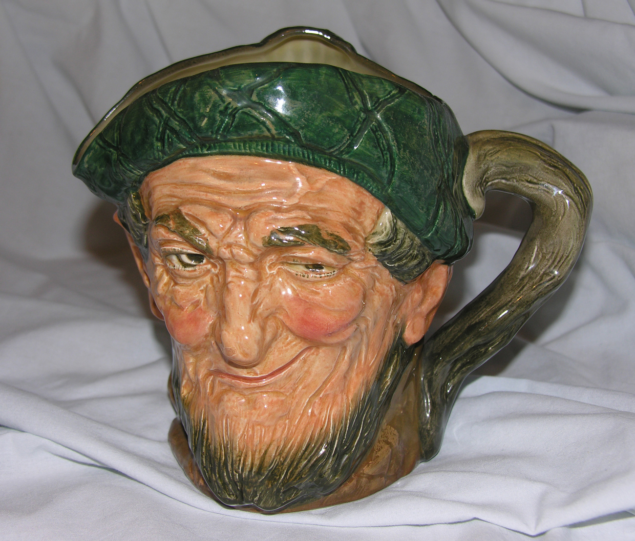 Royal Doulton Auld Mac Character Jug Toby A Mark Large