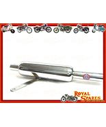 ROYAL ENFIELD 350cc SILENCER COMPLETE CHROMED B... - $43.99
