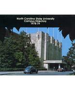 Vintage 1978-79 NC State University Campus Dire... - $12.99