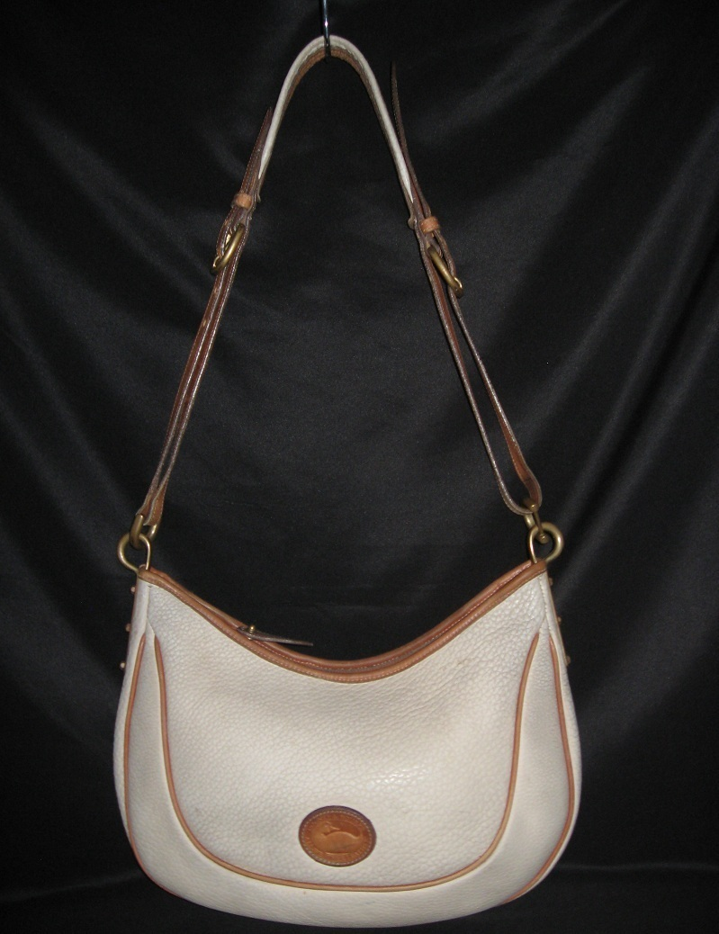 Vintage Dooney and Bourke Handbag Purse Bag Leather Large