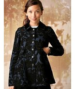 NEW Free People Newsroom Jacquard Coat Jacket 6... - $99.99