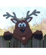 Reindeer Fence Topper, Christmas - $40.00