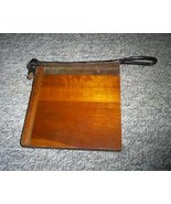 Antique Black Walnut Paper Cutting Board, 8 1/2... - $25.00