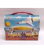Astronaut Dome Lunch Box Thermos Vintage Metal ... - $234.95