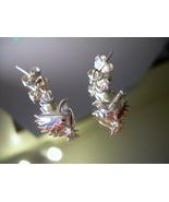 925 Silver Bird Pierced Earrings EUC *FREE SHIP* - $21.00