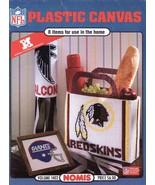 NFL Plastic Canvas Patterns Book Volume 1402  Nomis National Football League   - $42.99