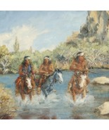 Out Of Bounds Southwest Indian Painting Limited... - $222.07