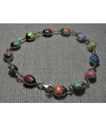 14k Gold Ladybug Bracelet Enamel Multi Color 4 ... - $240.00