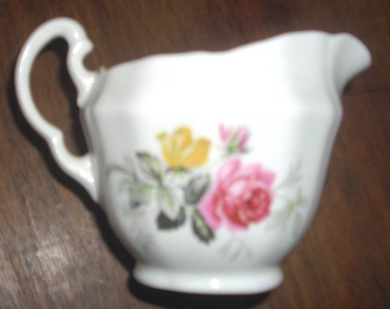 Adderly Fine Bone China England Creamer Vintage