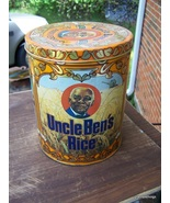 Uncle Ben's Rice 40th Anniversary 1983 tin can... - $35.00