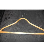 Vintage Wooden Clothes Hanger Milwaukee Troy - $9.99