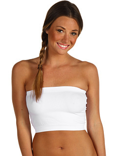 New Sports Bra White Seamless Bandeau Tube Top Strapless many colors Soft