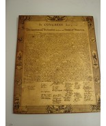 Vintage Collectible Declaration Of Independence... - $169.50