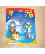 Toy Story 2 Buddies Stampers Buzz Lightyear And... - $9.99
