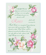 Fresh Scents Scented Sachets by Willowbrook Company - Roses, 3 Pack
