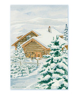 Fresh Scents Scented Sachets by Willowbrook Company - Snowy Cabin, 3 Packs
