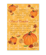 Fresh Scents Scented Sachets by Willowbrook Company - Spiced Pumpkin, 3 Packs