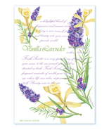 Fresh Scents Scented Sachets by Willowbrook Company - Vanilla Lavender, 3 Packs