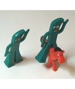 Vintage Gumby Set of Two plus Pokey by Jesco Pr... - $14.99
