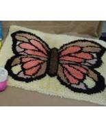 Butterfly Latch Hook Loop Rug 29